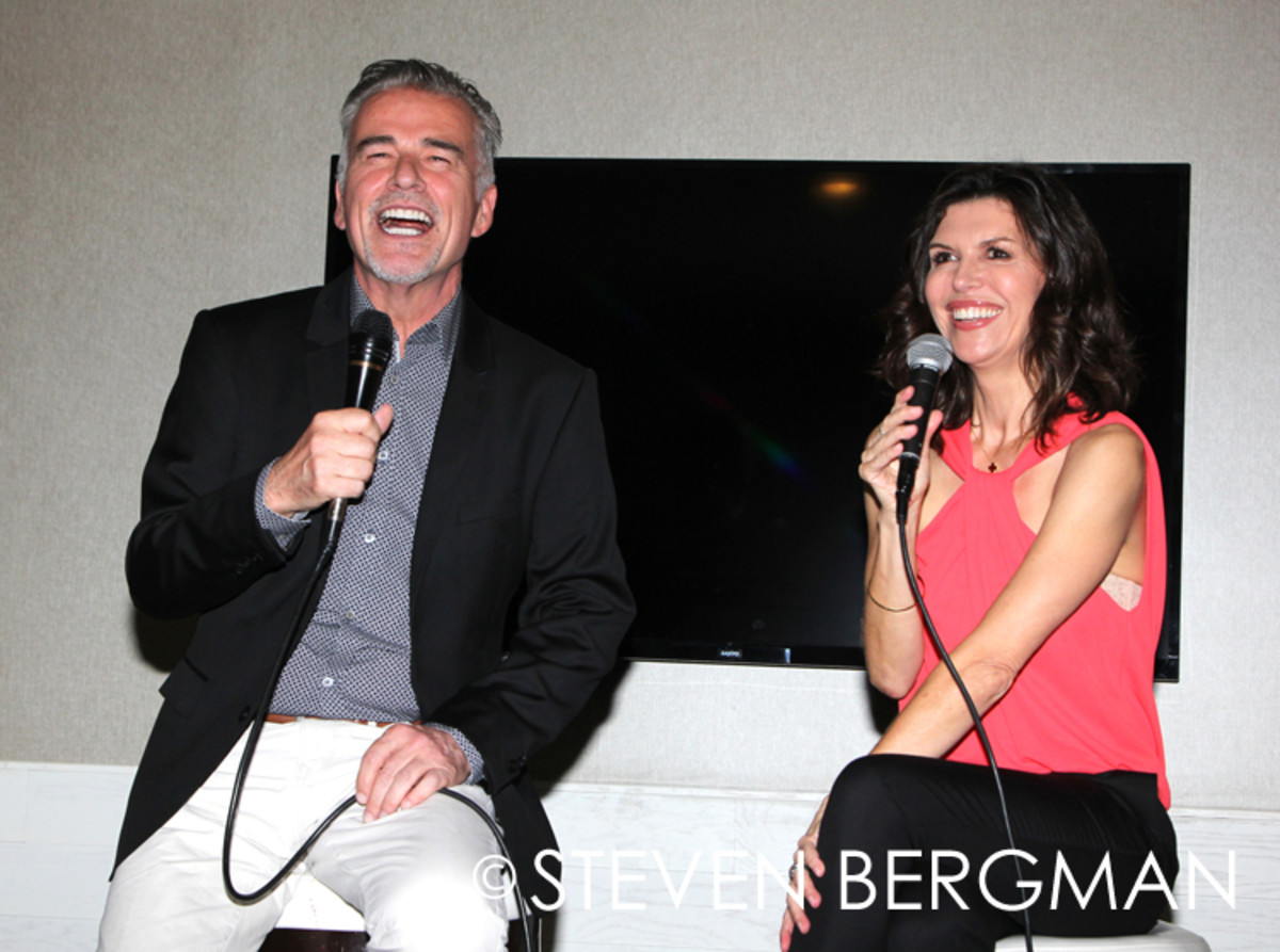Finola Hughes, Ian Buchanan, General Hospital Fan Club Weekend