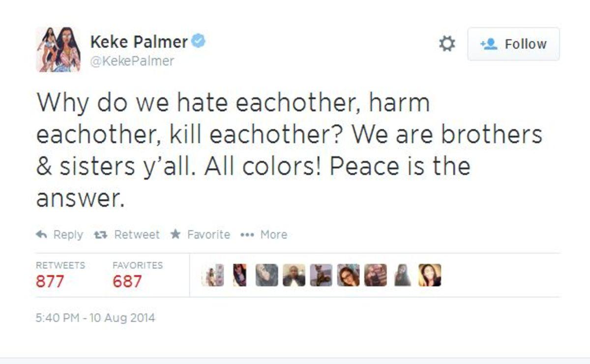 Keke Palmer, twitter