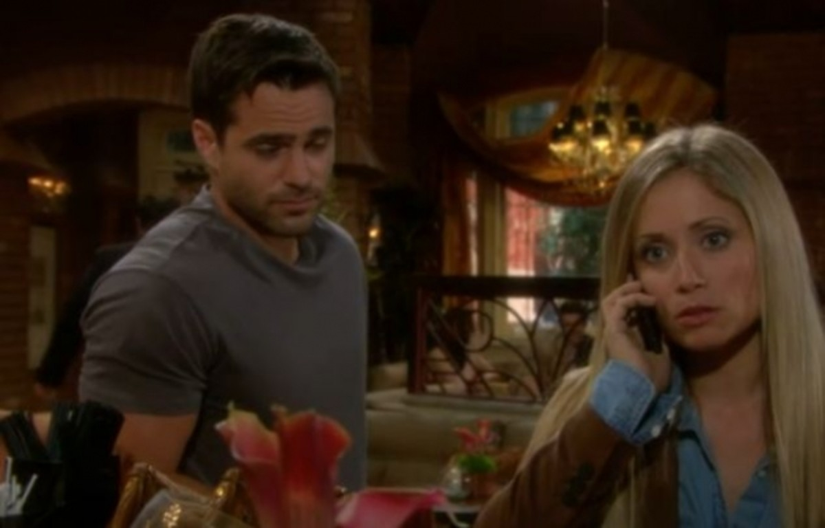 Greg Rikaart Nude for soap bytes: abby schemes to take down sharon on young and restless
