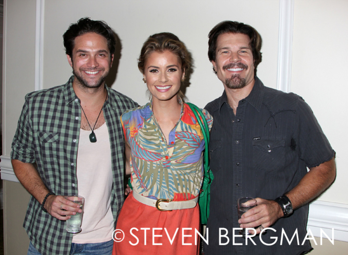 Blake Gibbons, Brianna Brown, Brandon Barash