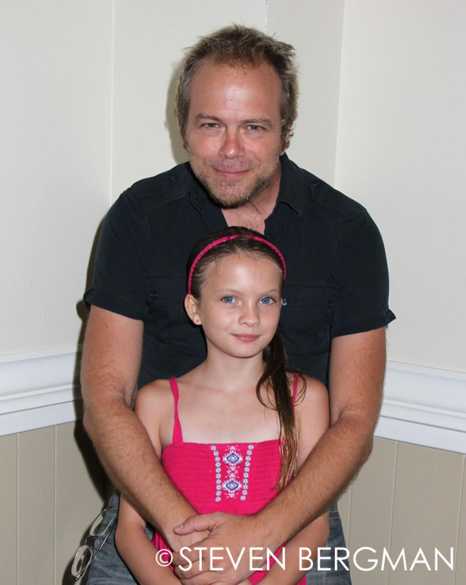 Brian Gaskill, daughter Alabama