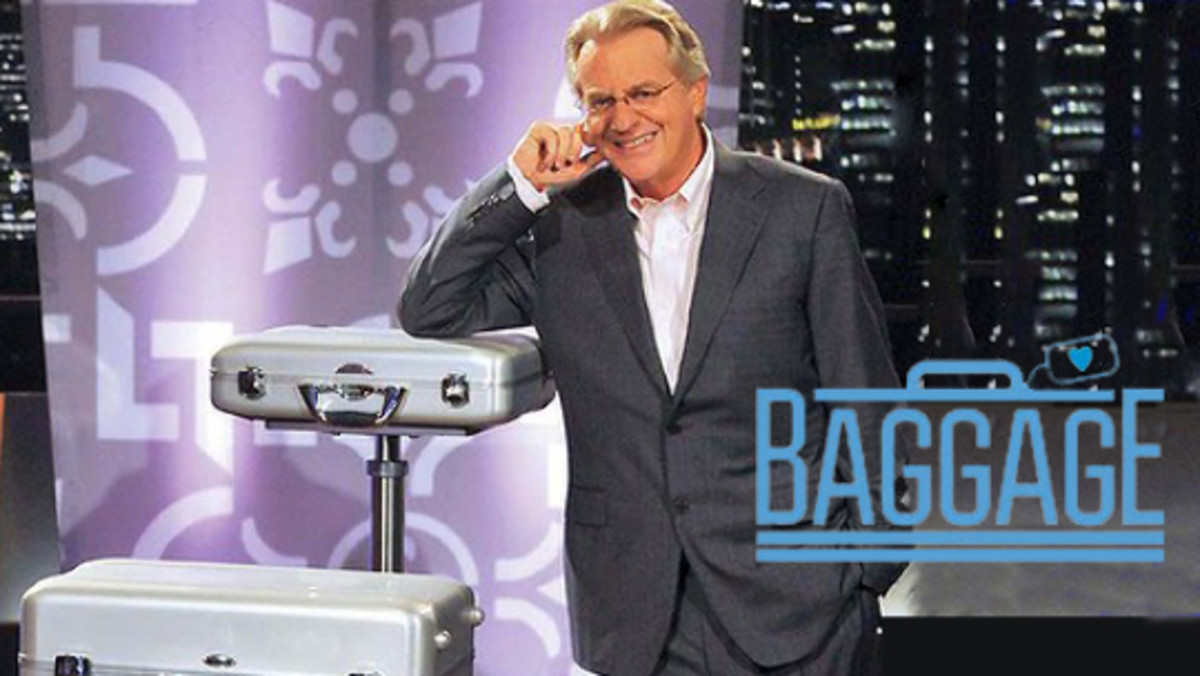 Jerry springer dating show baggage is fake