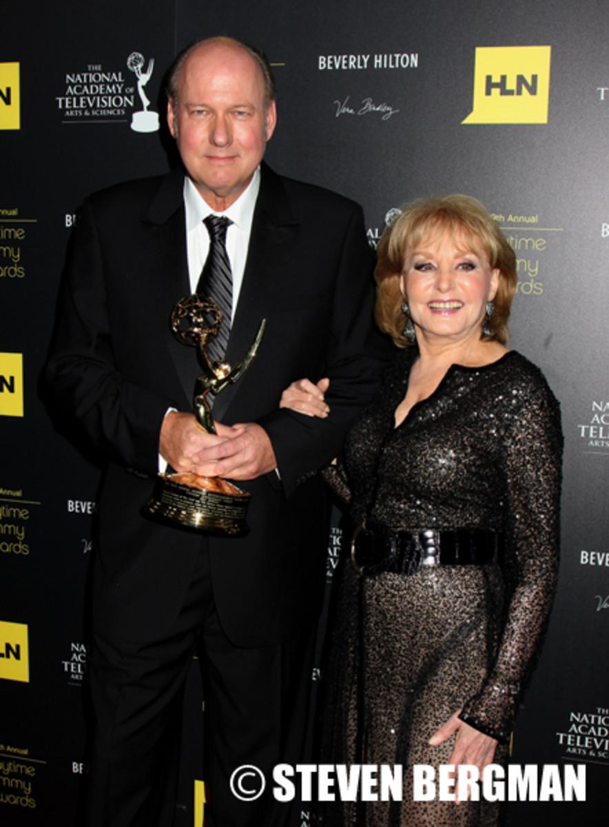 Bill Geddie, Barbara Walters
