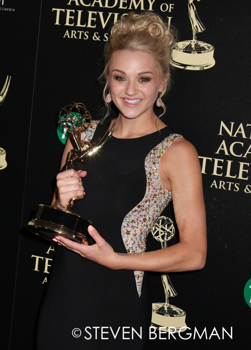 Hunter King, 2014, Daytime Emmys