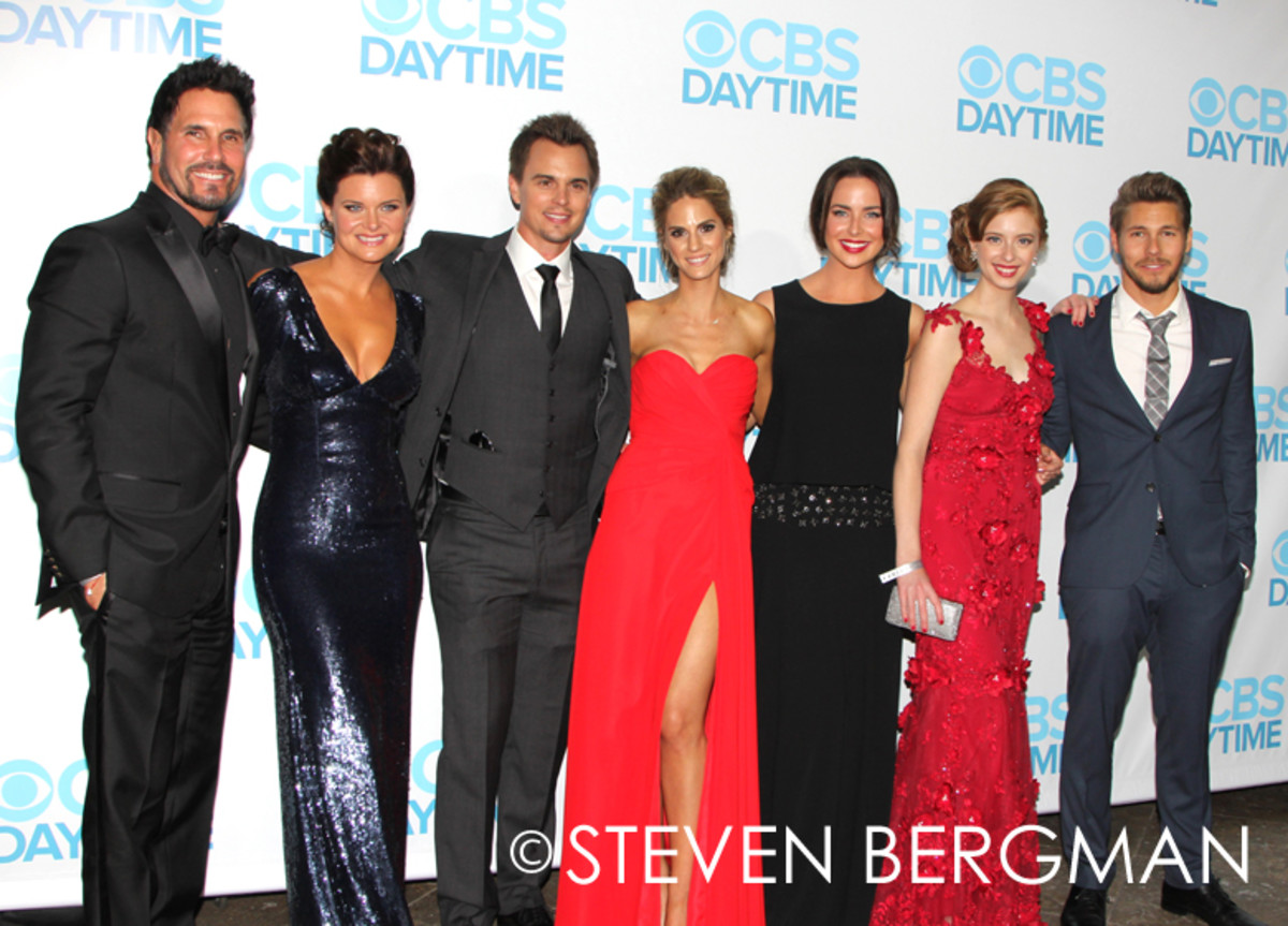 Don Diamont, Heather Tom, Darin Brooks, Kelly Kruger, Ashleigh Brewer, Ashlyn Pearce, Scott Clifton
