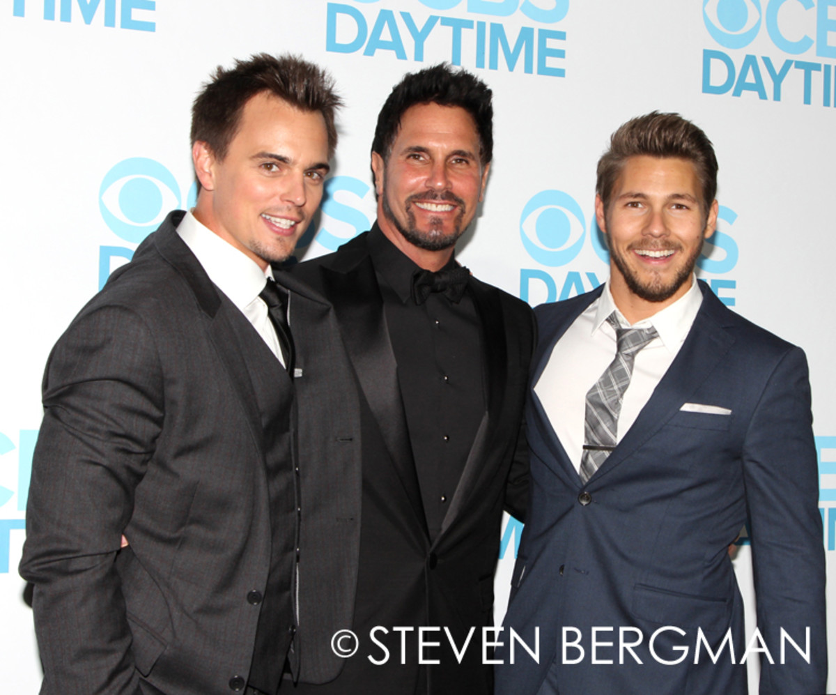 Darin Brooks, Don Diamont, Scott Clifton
