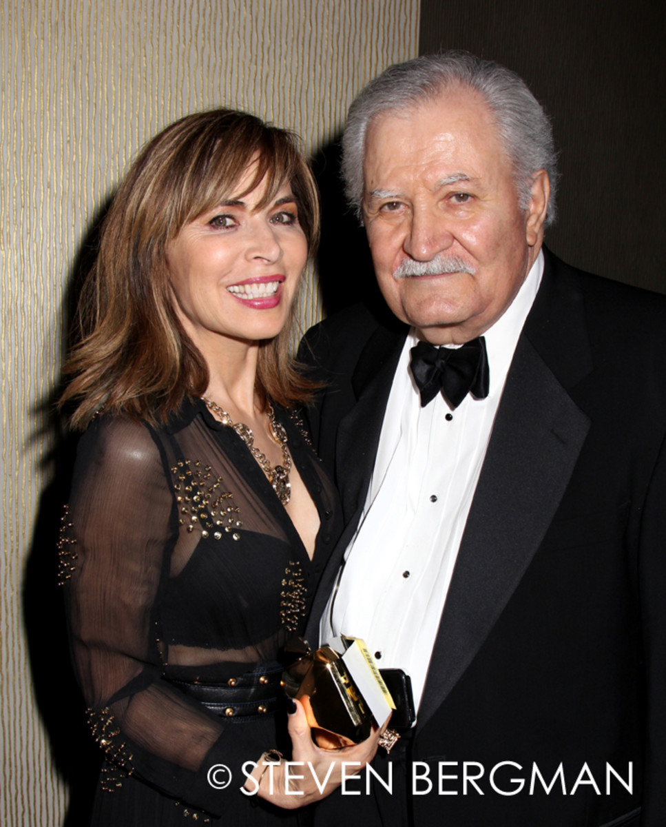 Lauren Koslow, John Aniston