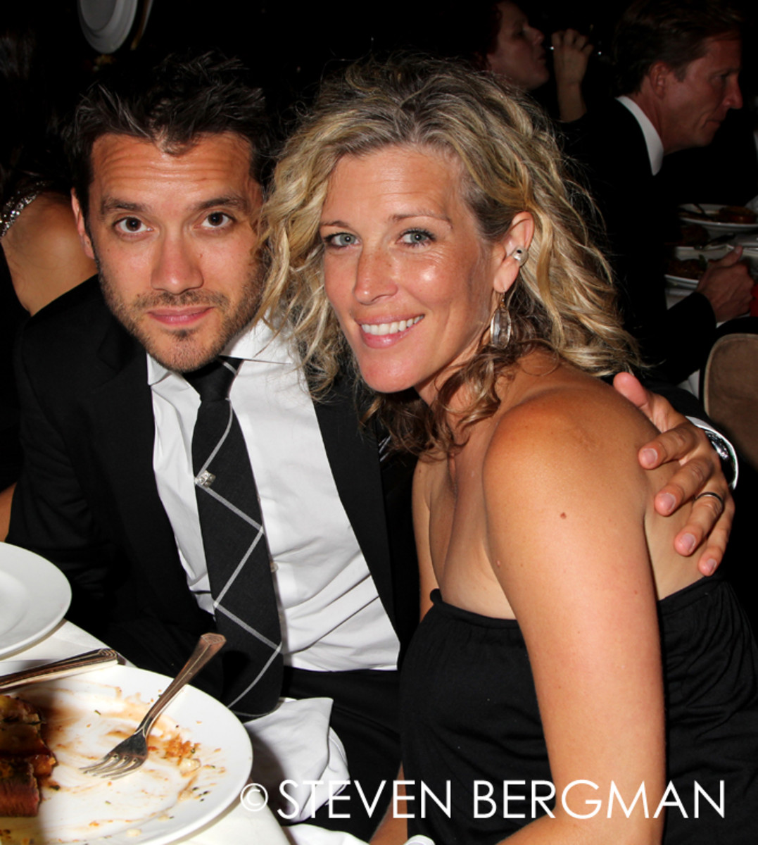 Dominic Zamprogna, Laura Wright