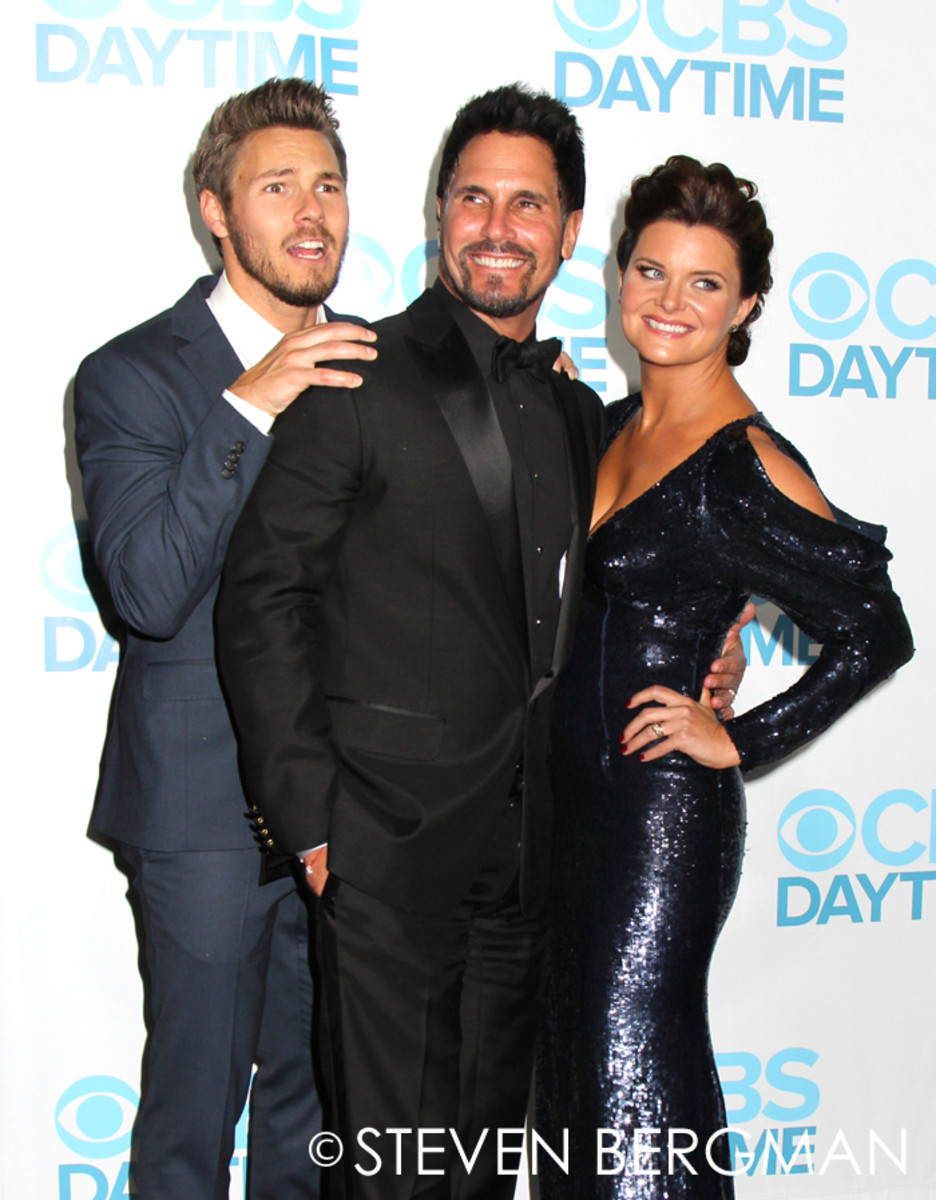 Scott Clifton, Don Diamont, Heather Tom