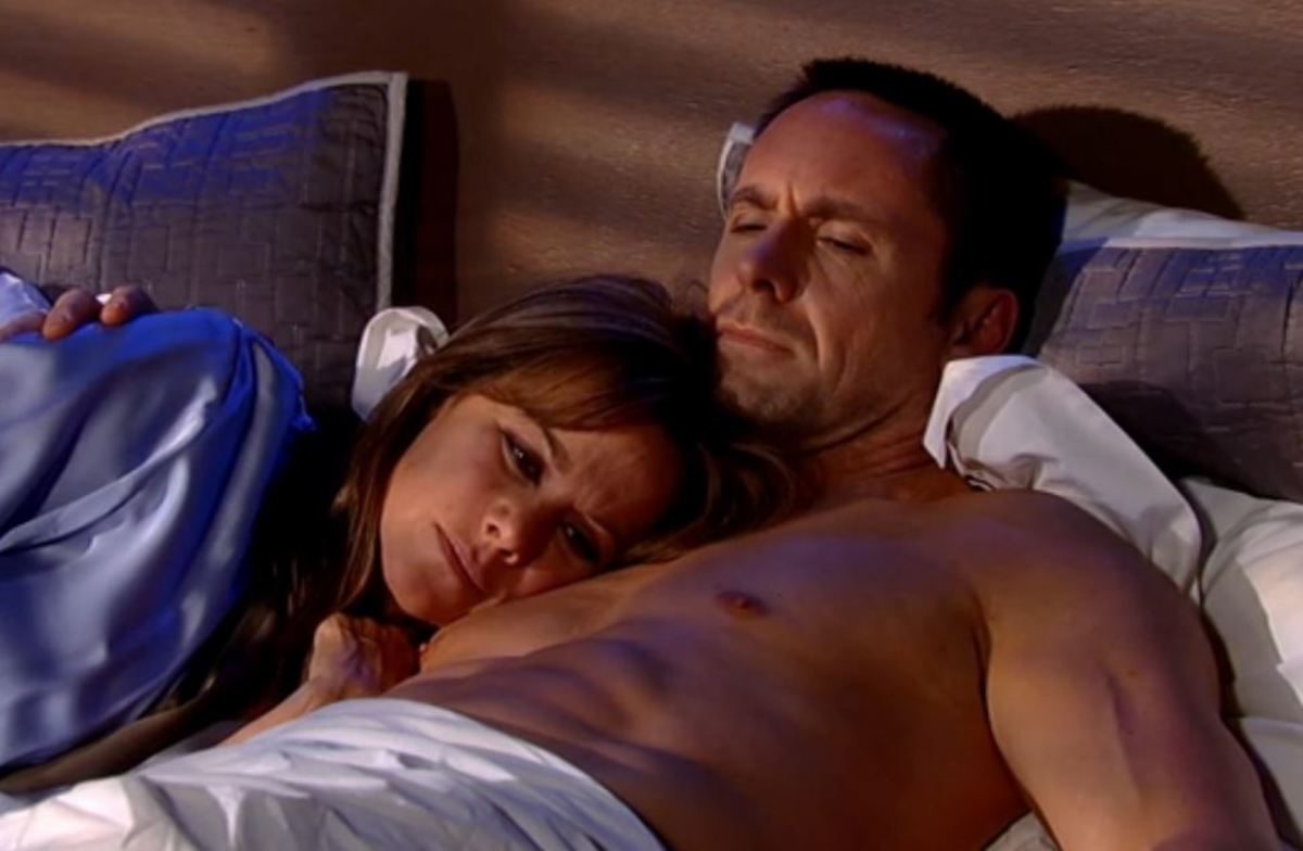 Julexis, Nancy Lee Grahn, William deVry, GH, Hunk