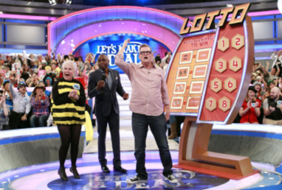 drew carey joins lets make a deal for april fools day