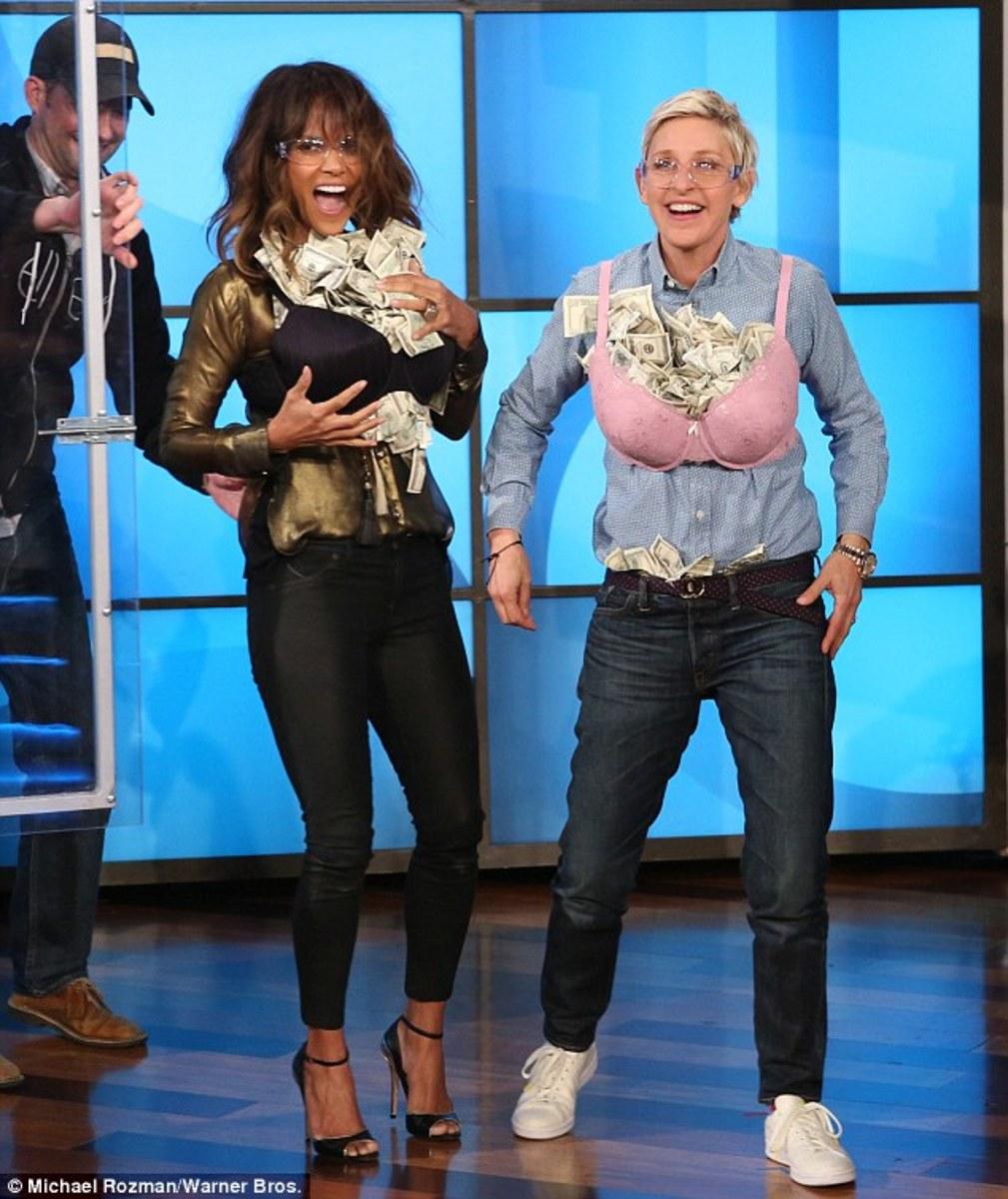 Ellen DeGeneres, Halle Berry