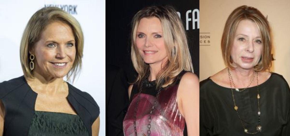 Katie Couric, Michelle Pfeiffer, Diane English