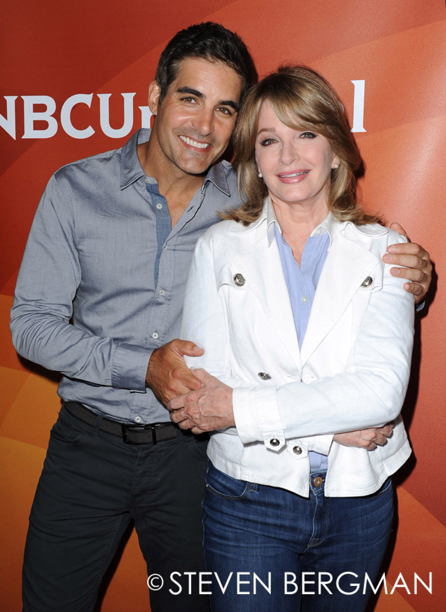 Galen Gering and Deidre Hall
