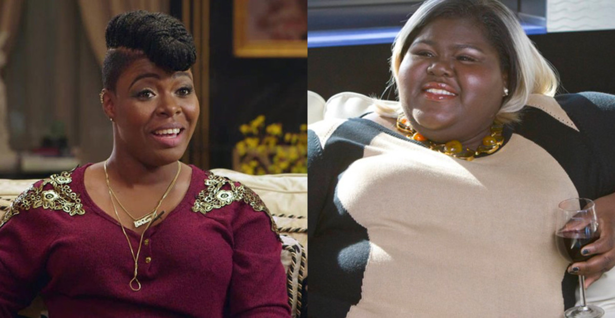 Ta'Rhonda Jones, Gabourey Sidibe