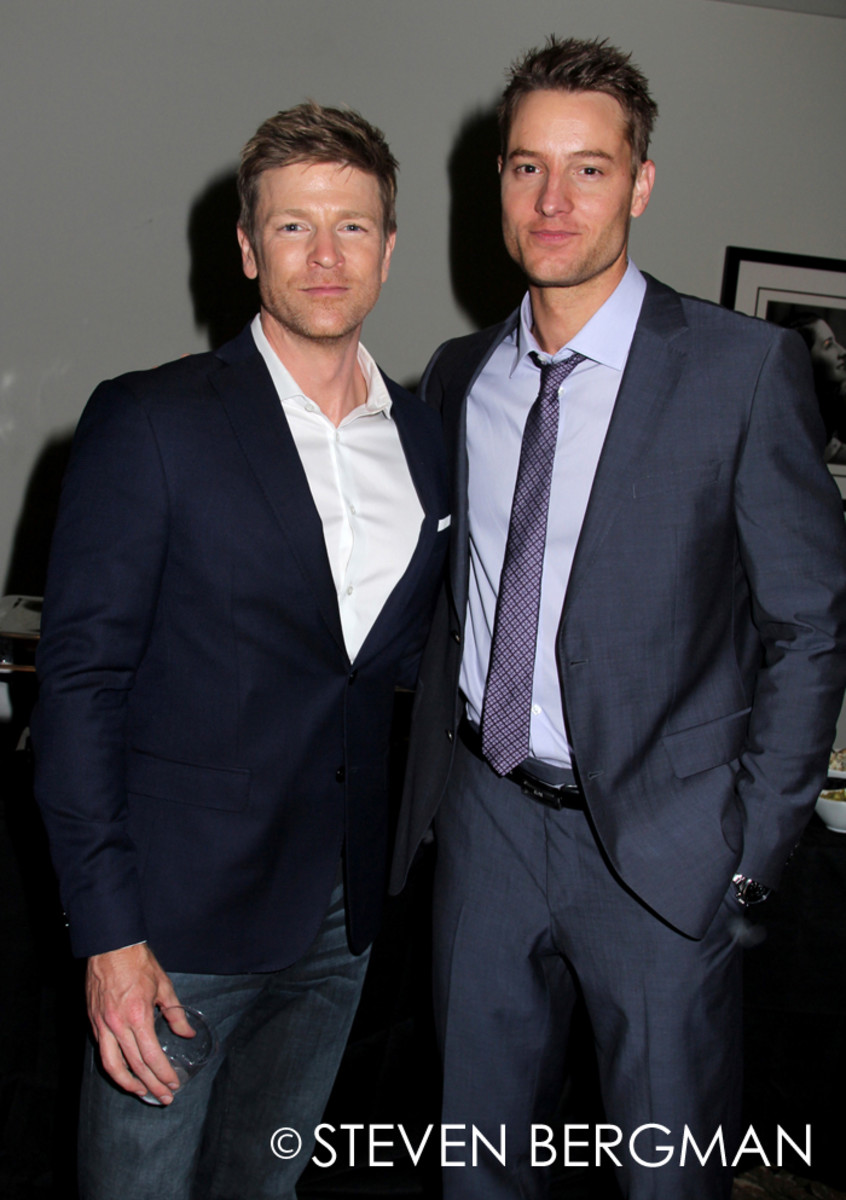 Burgess Jenkins, Justin Hartley