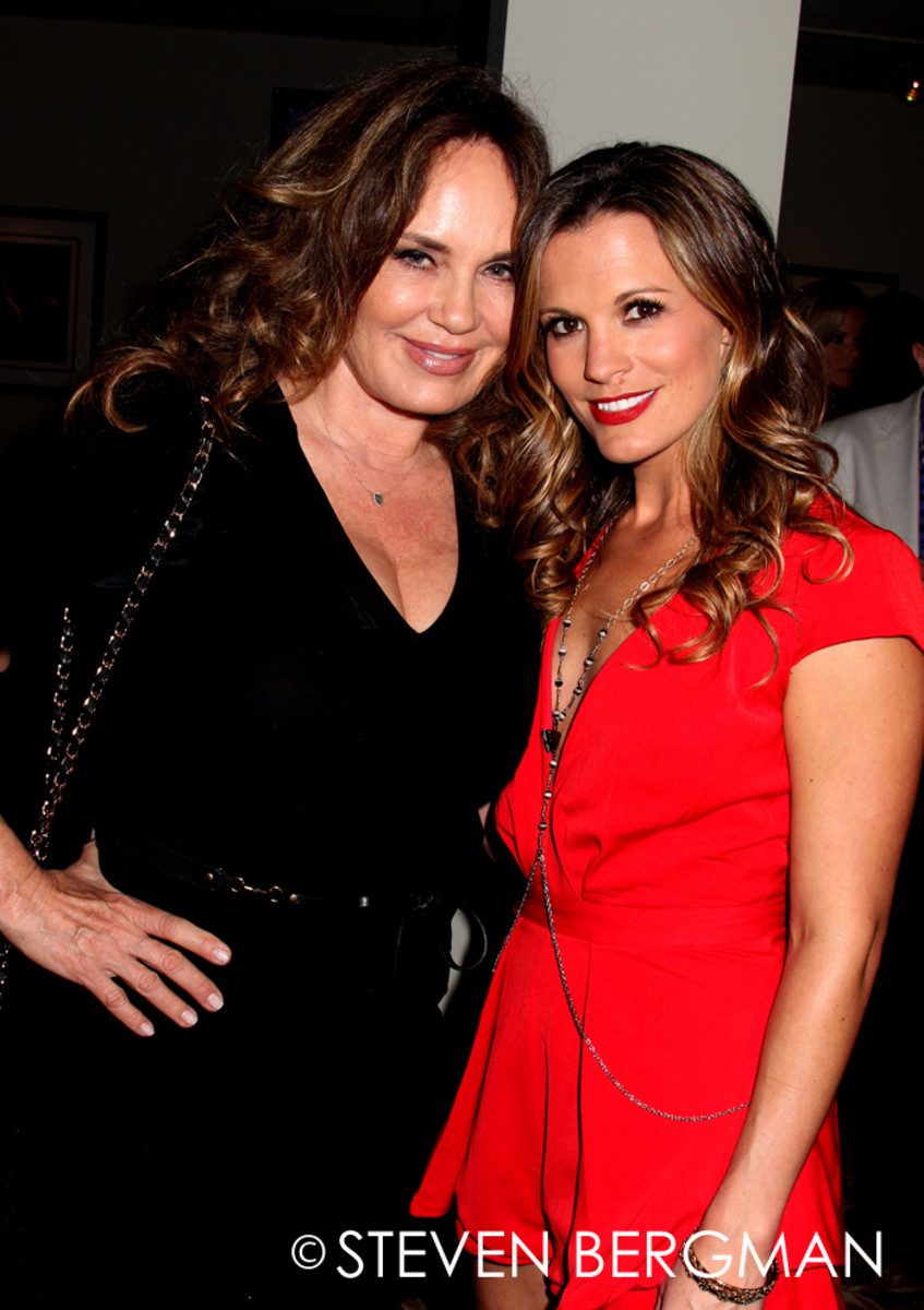 Catherine Bach, Melissa Claire Egan