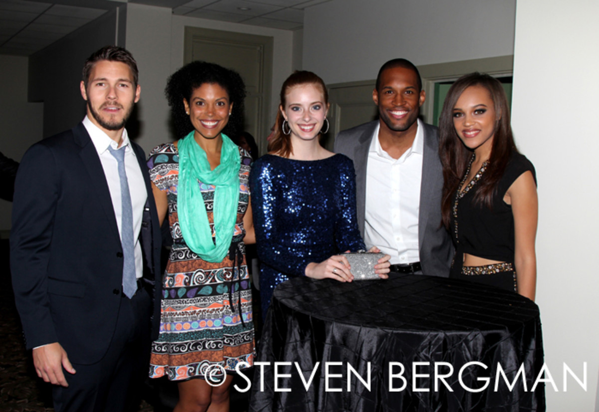 Scott Clifton, Karla Mosley, Ashlyn Pearce, Lawrence Saint-Victor