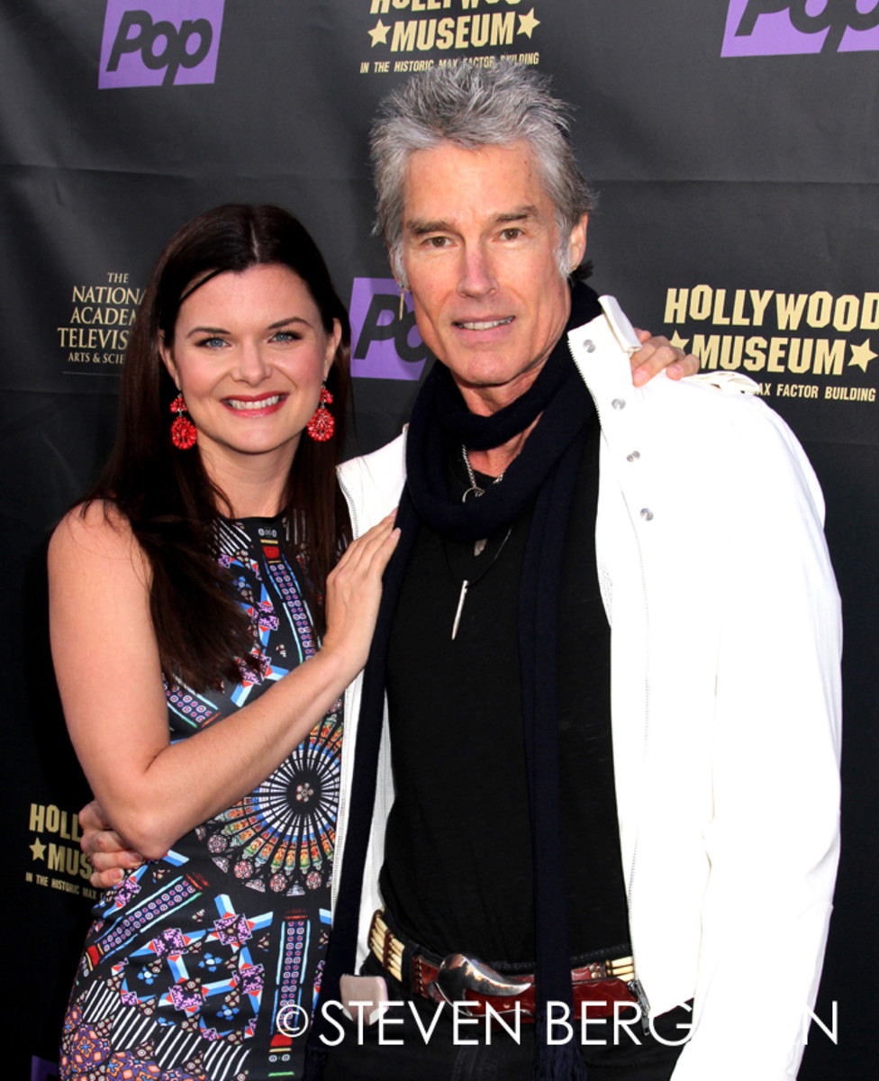 Heather Tom, Ronn Moss