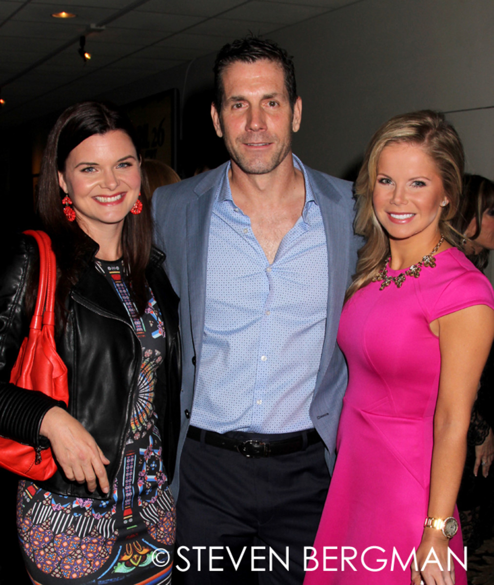 Heather Tom, Frank Valentini, Crystal Hunt