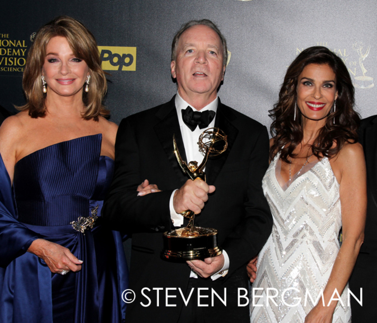 Deidre Hall, Ken Corday and Kristian Alfonso