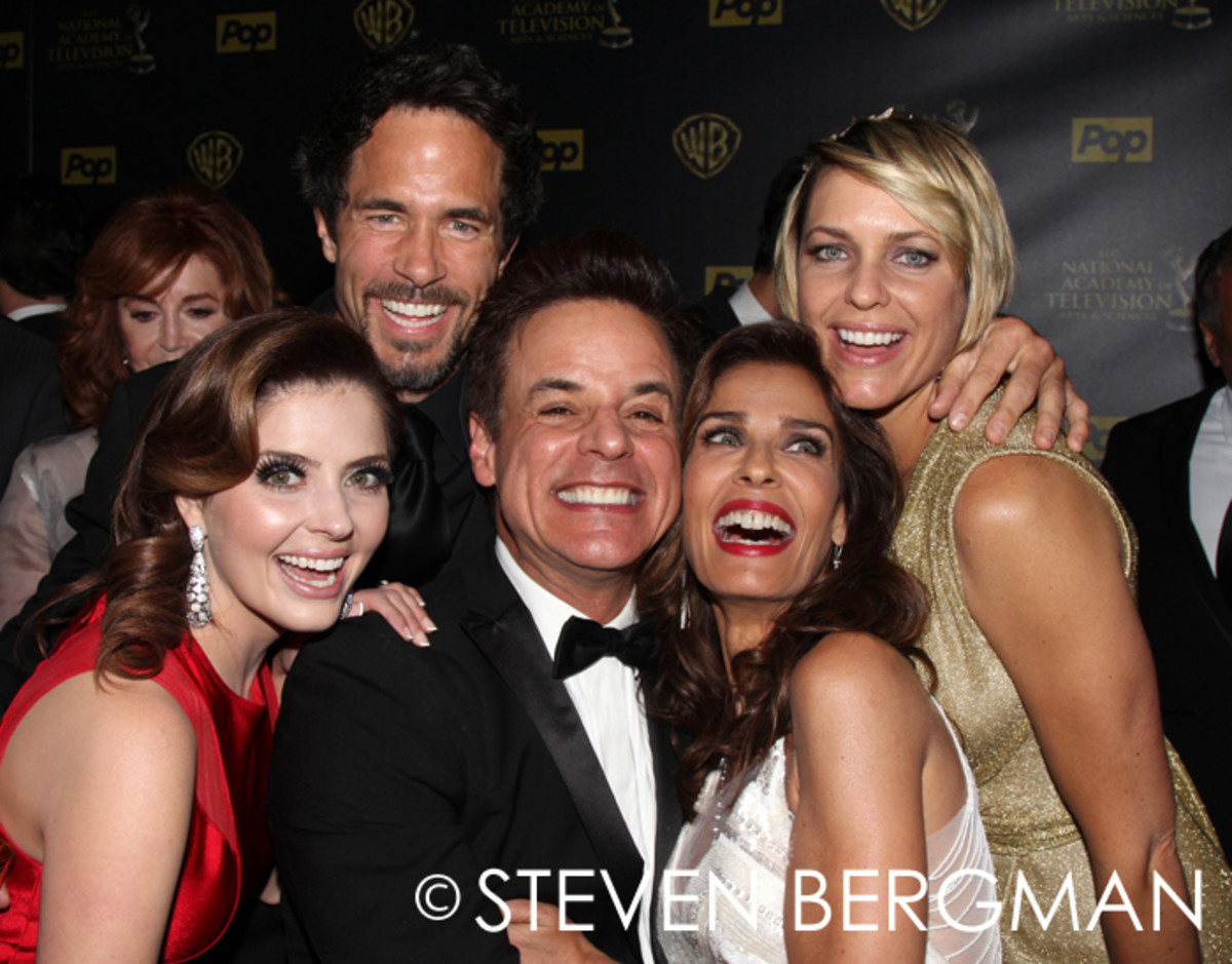 Jen Lilley, Shawn Christian, Christian LeBlanc, Kristian Alfonso and Arianne Zucker