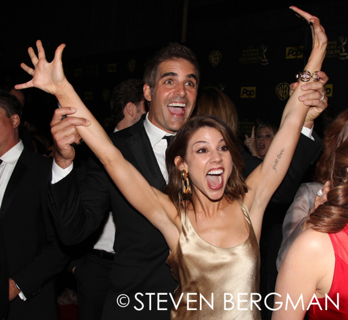 Galen Gering and Kate Mansi
