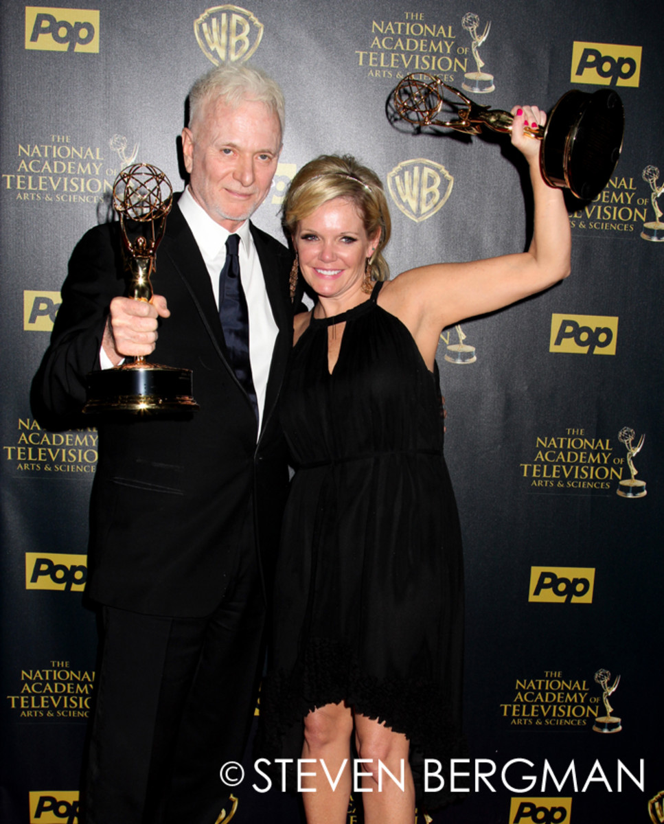 Anthony Geary and Maura West
