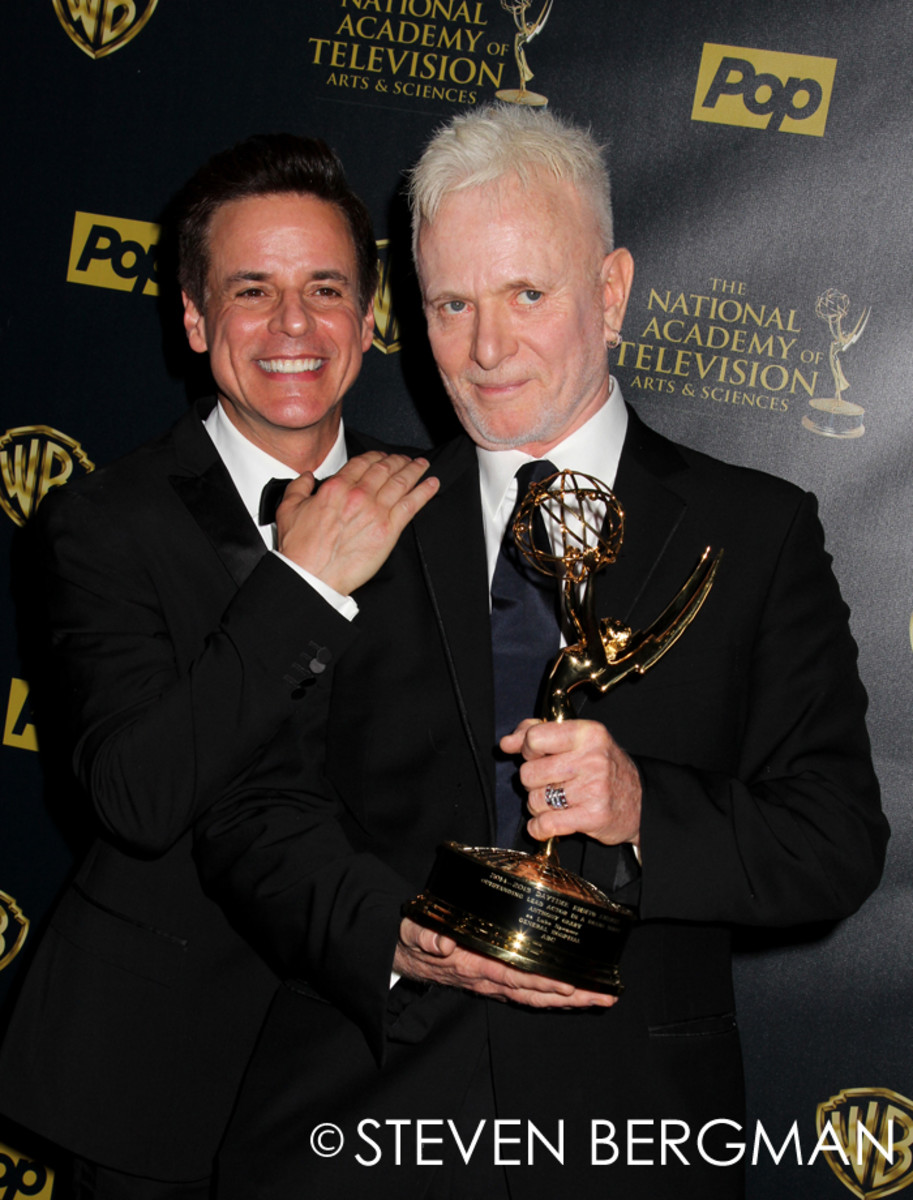 Christian LeBlanc and Anthony Geary