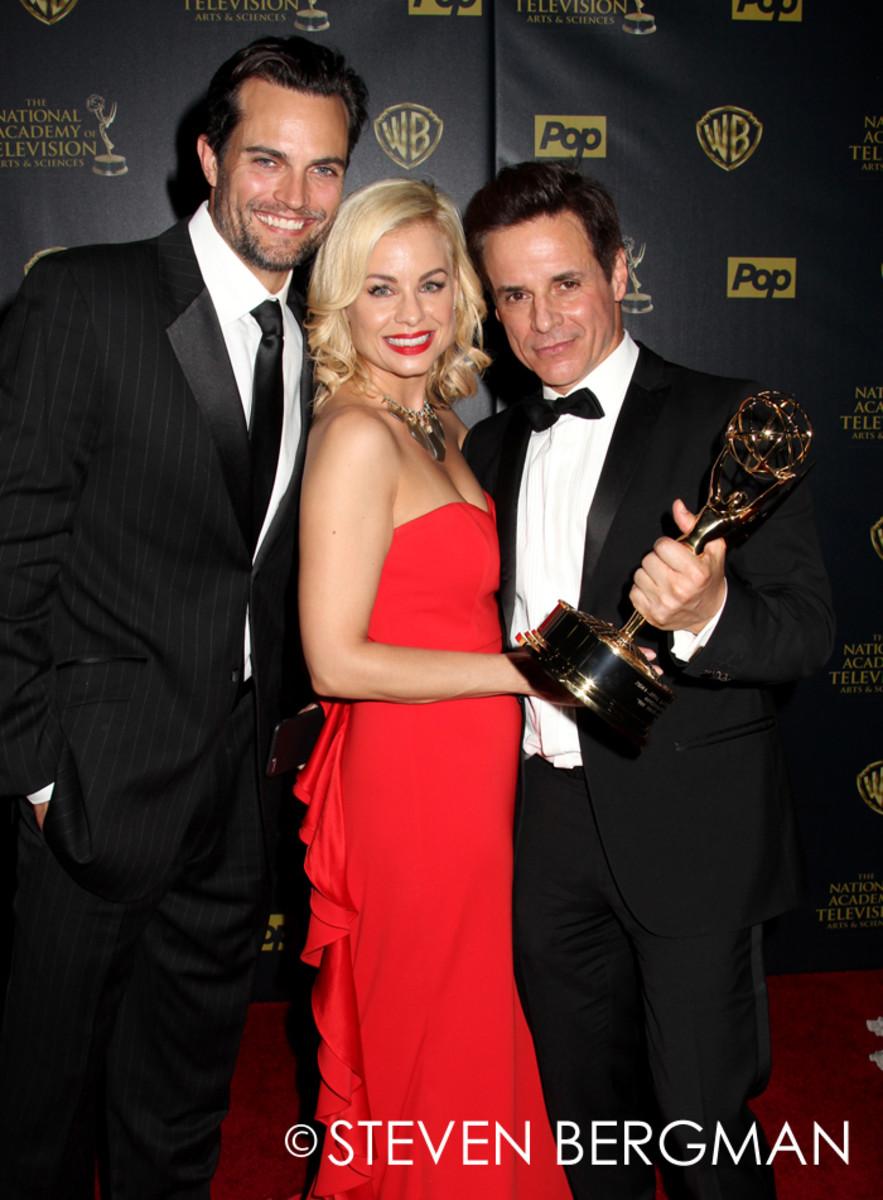Scott Elrod, Jessica Collins and Christian LeBlanc
