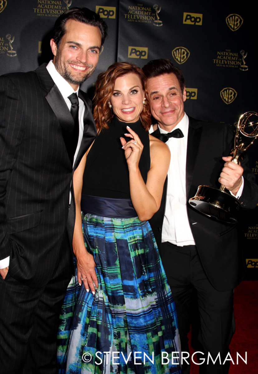 Scott Elrod, Gina Tognoni and Christian LeBlanc