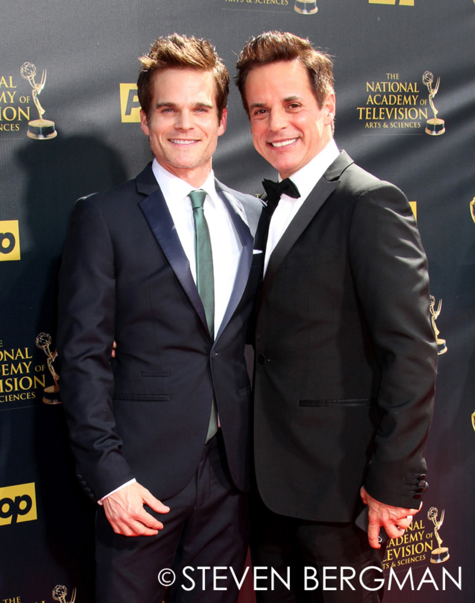 Greg Rikaart and Christian LeBlanc