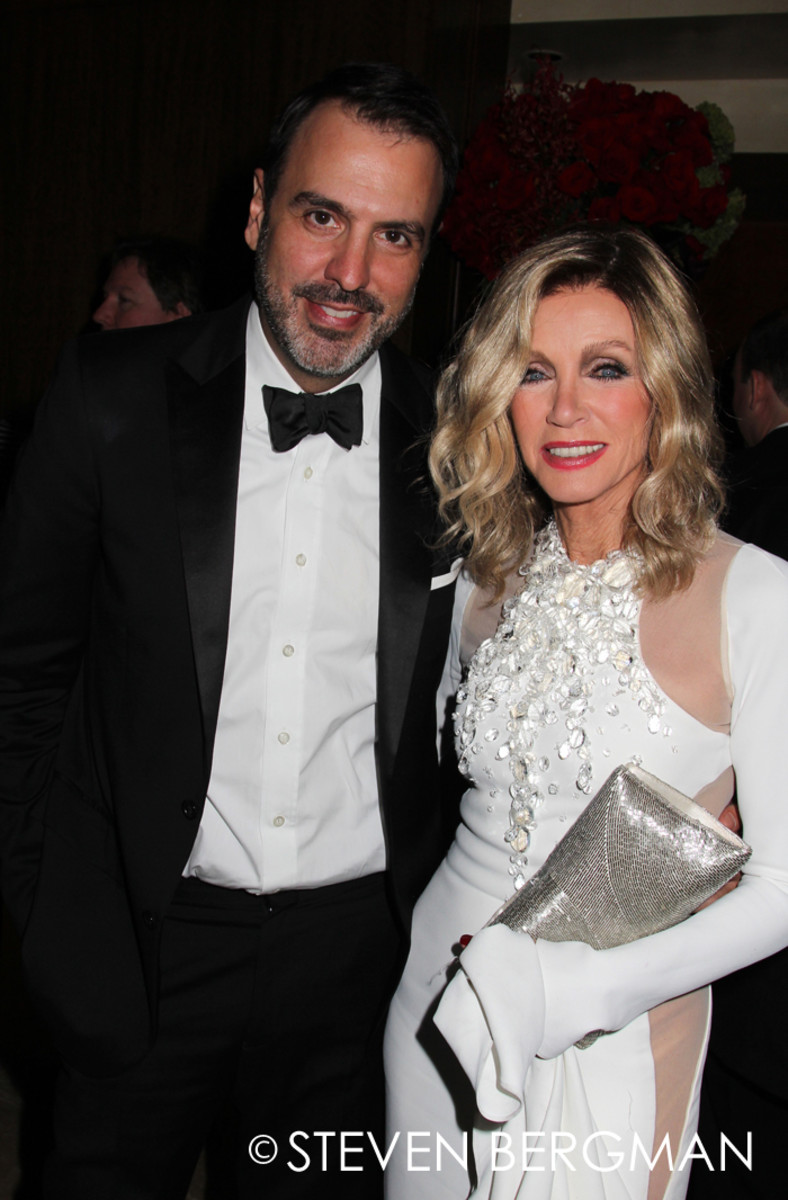 Ron Carlivati and Donna Mills