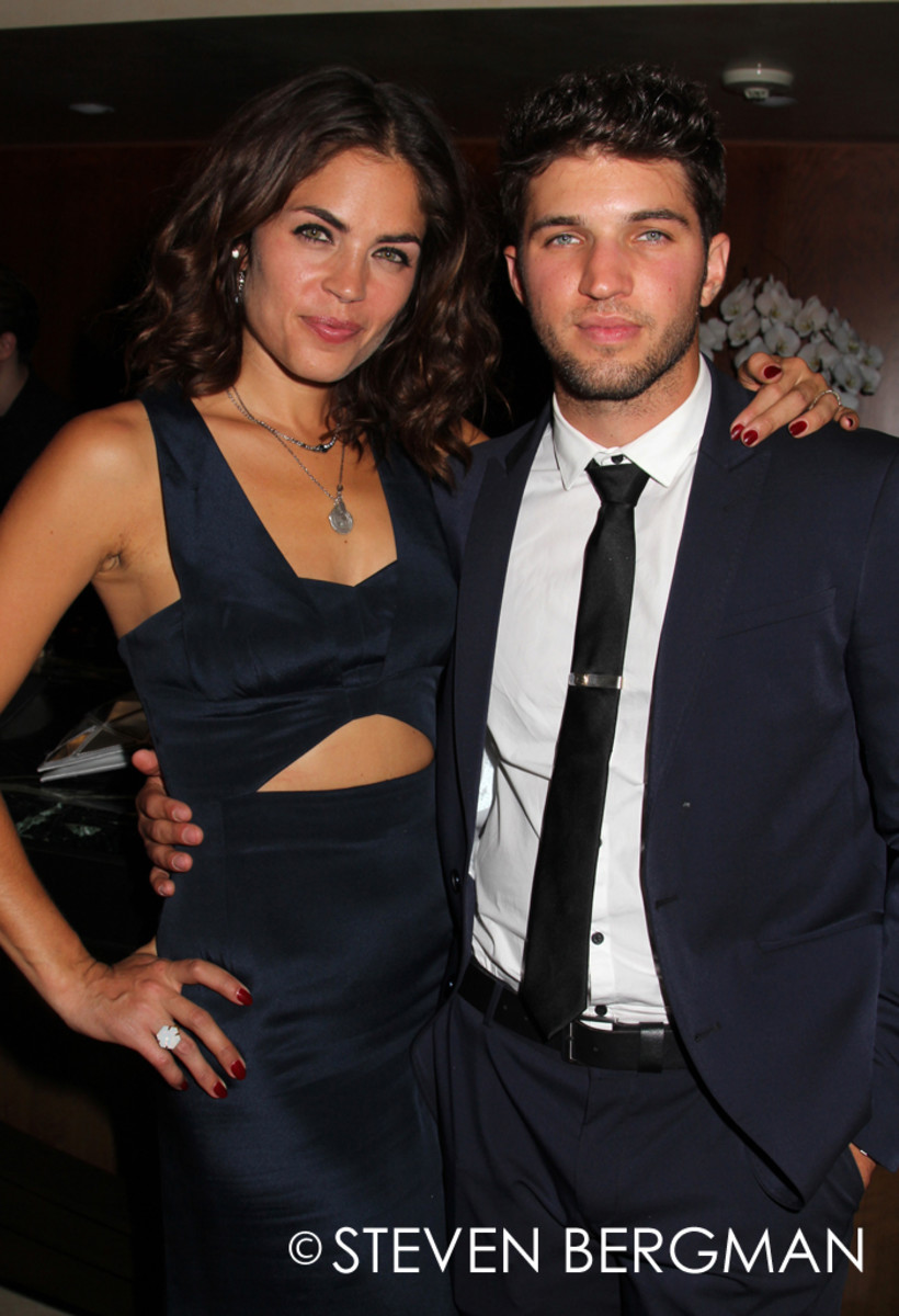 Kelly Thiebaud and Bryan Craig