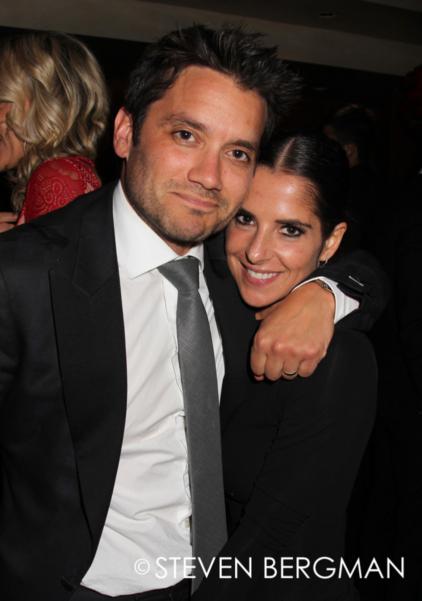 Dominic Zamprogna and Kelly Monaco
