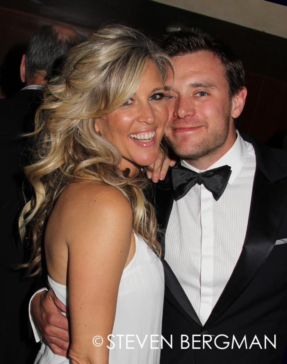 Laura Wright and Billy Miller