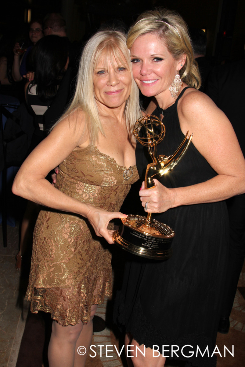 Ilene Kristen and Maura West