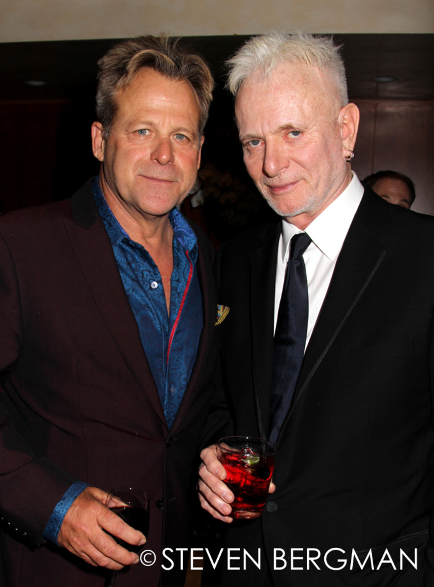 Kin Shriner and Anthony Geary