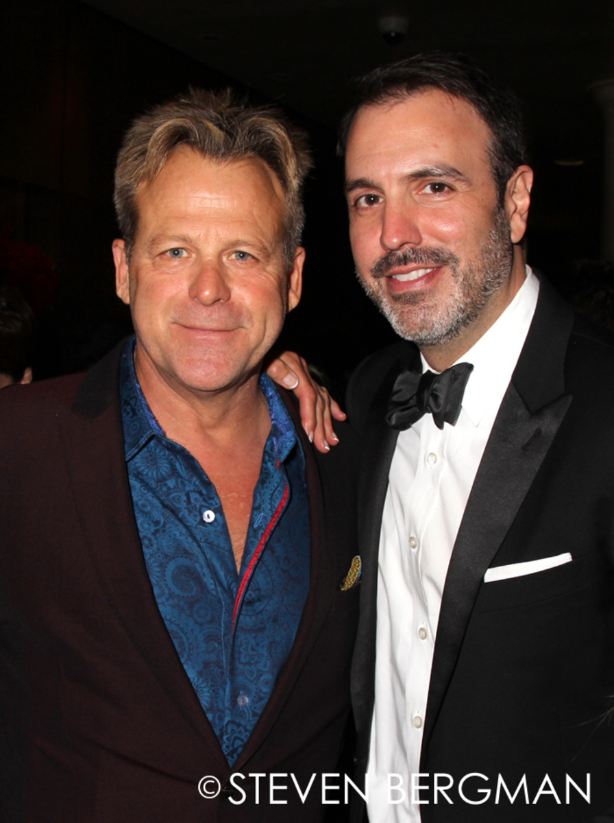 Kin Shriner and Ron Carlivati