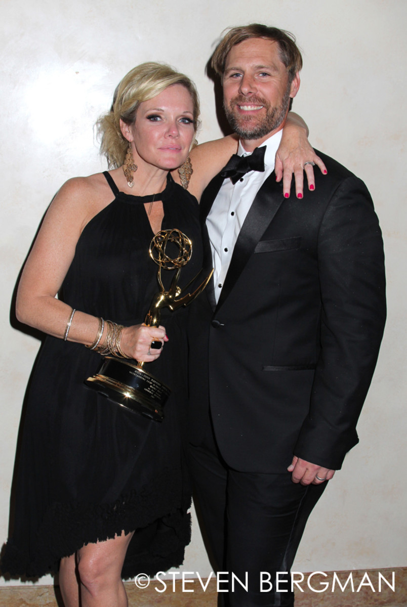 Maura West and Scott DeFreitas