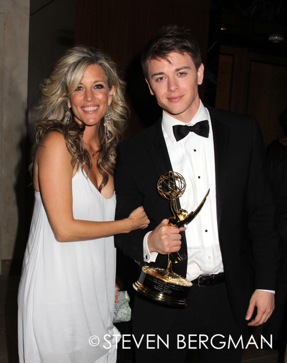 Laura Wright and Chad Duell