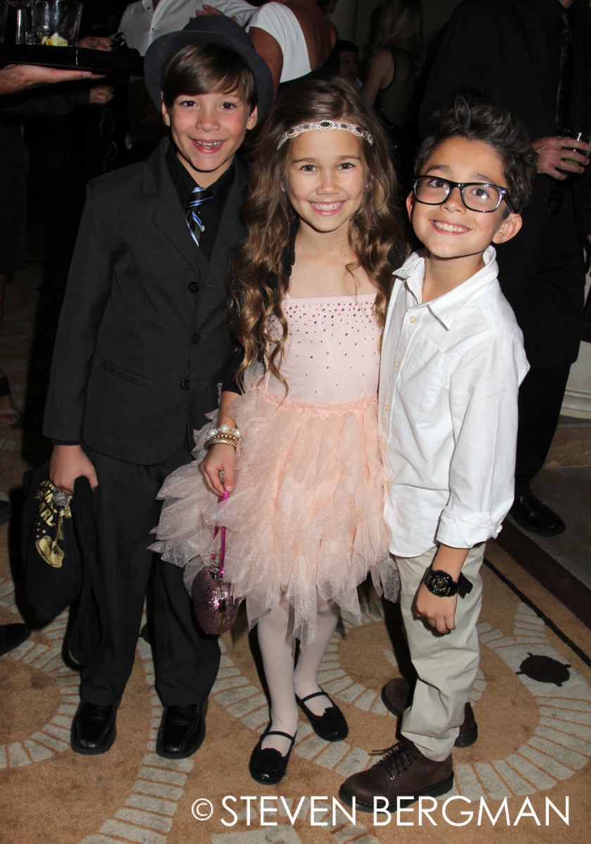 Michael Leone, Brooklyn Rae Silzer and Nicholas Bechtel