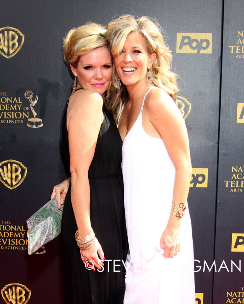 Maura West and Laura Wright
