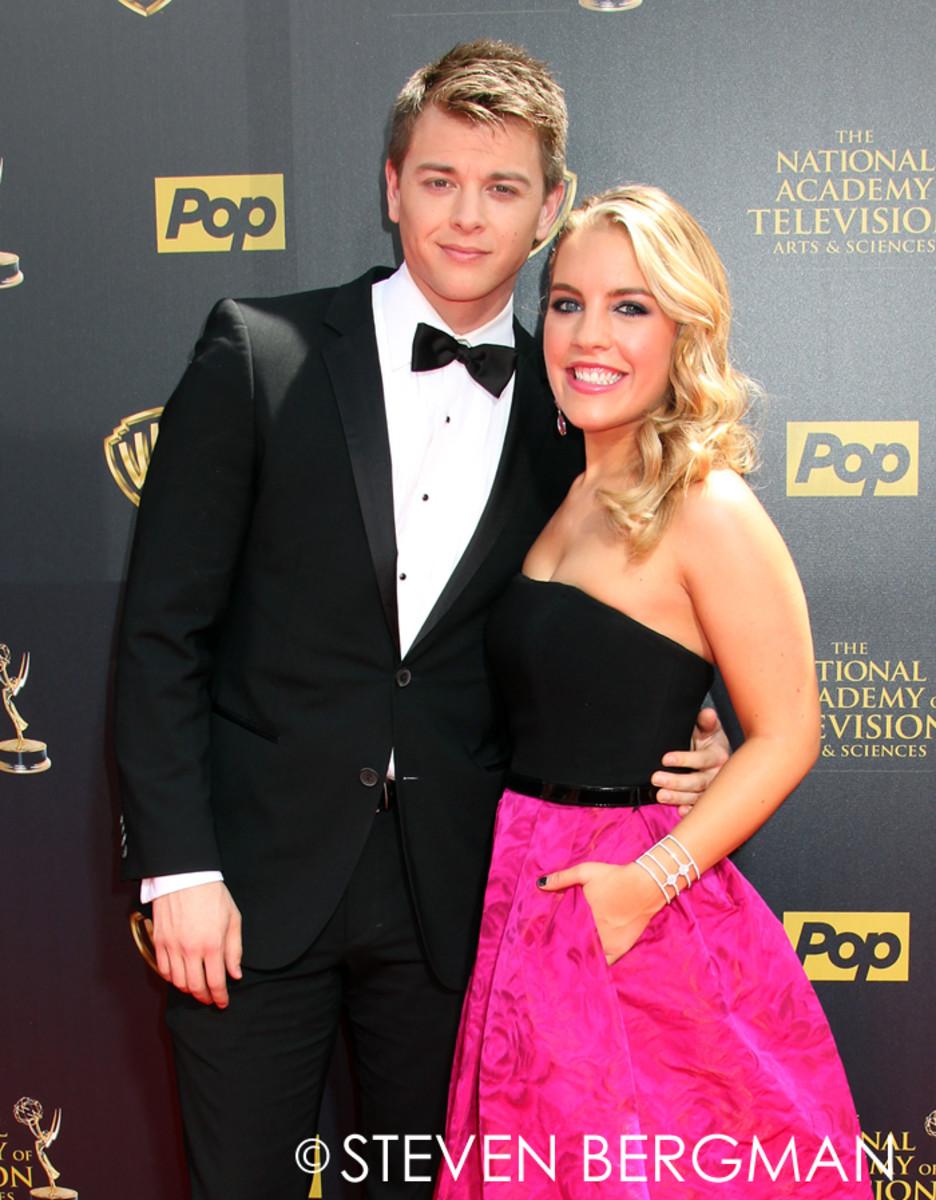 Chad Duell and Kristen Alderson