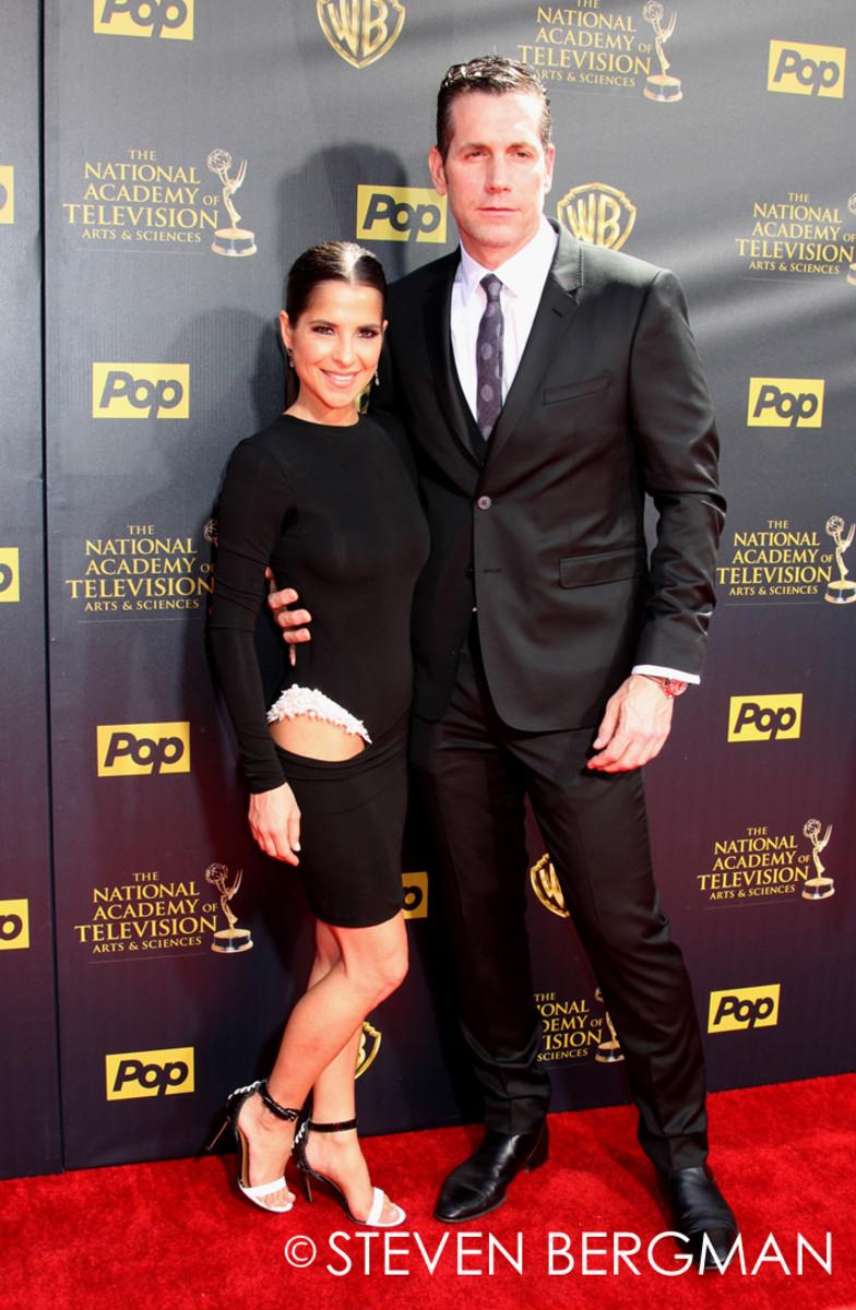 Kelly Monaco and Frank Valentini