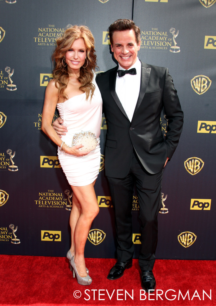 Tracey Bregman and Christian LeBlanc