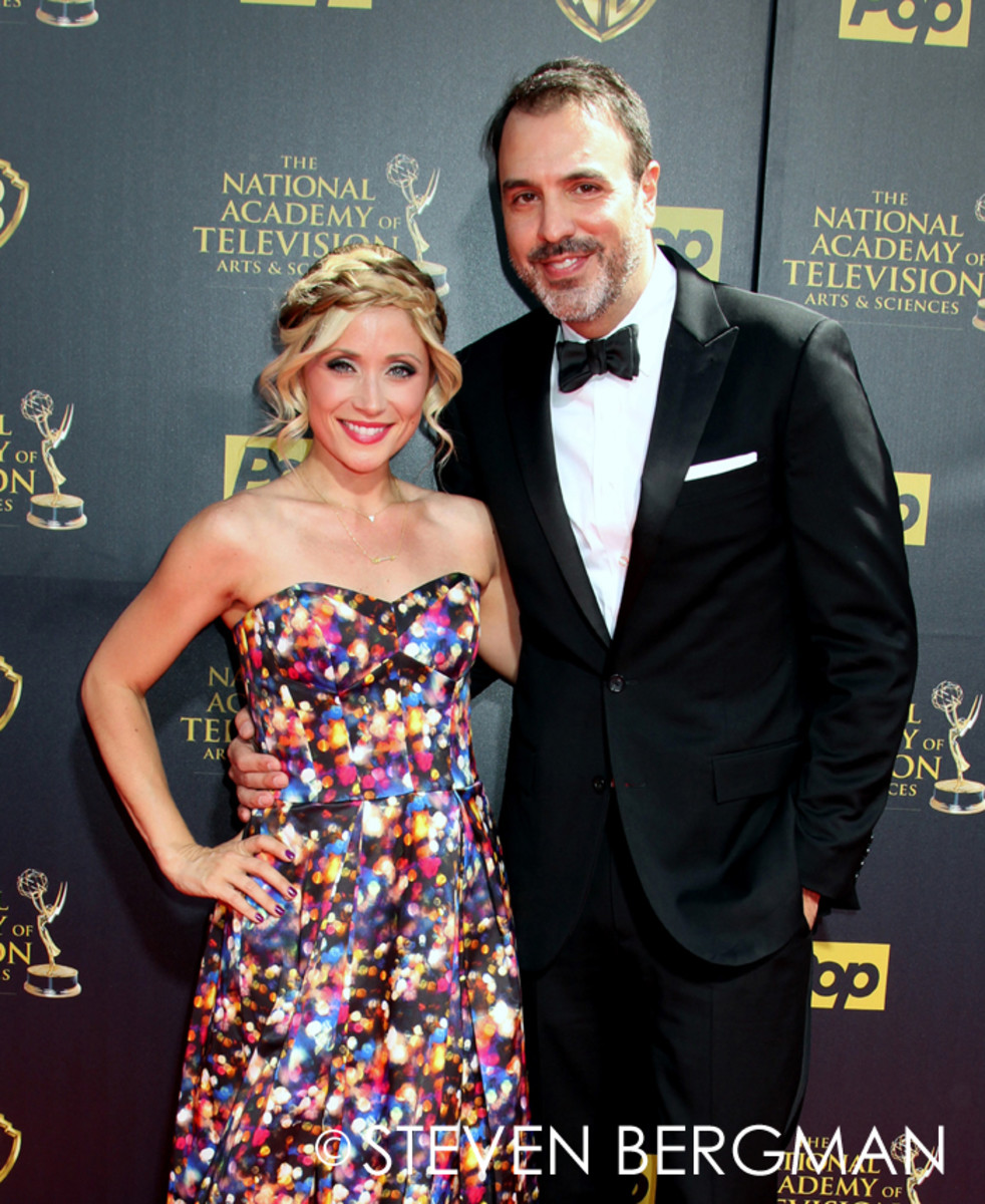 Emme Rylan and Ron Carlivati
