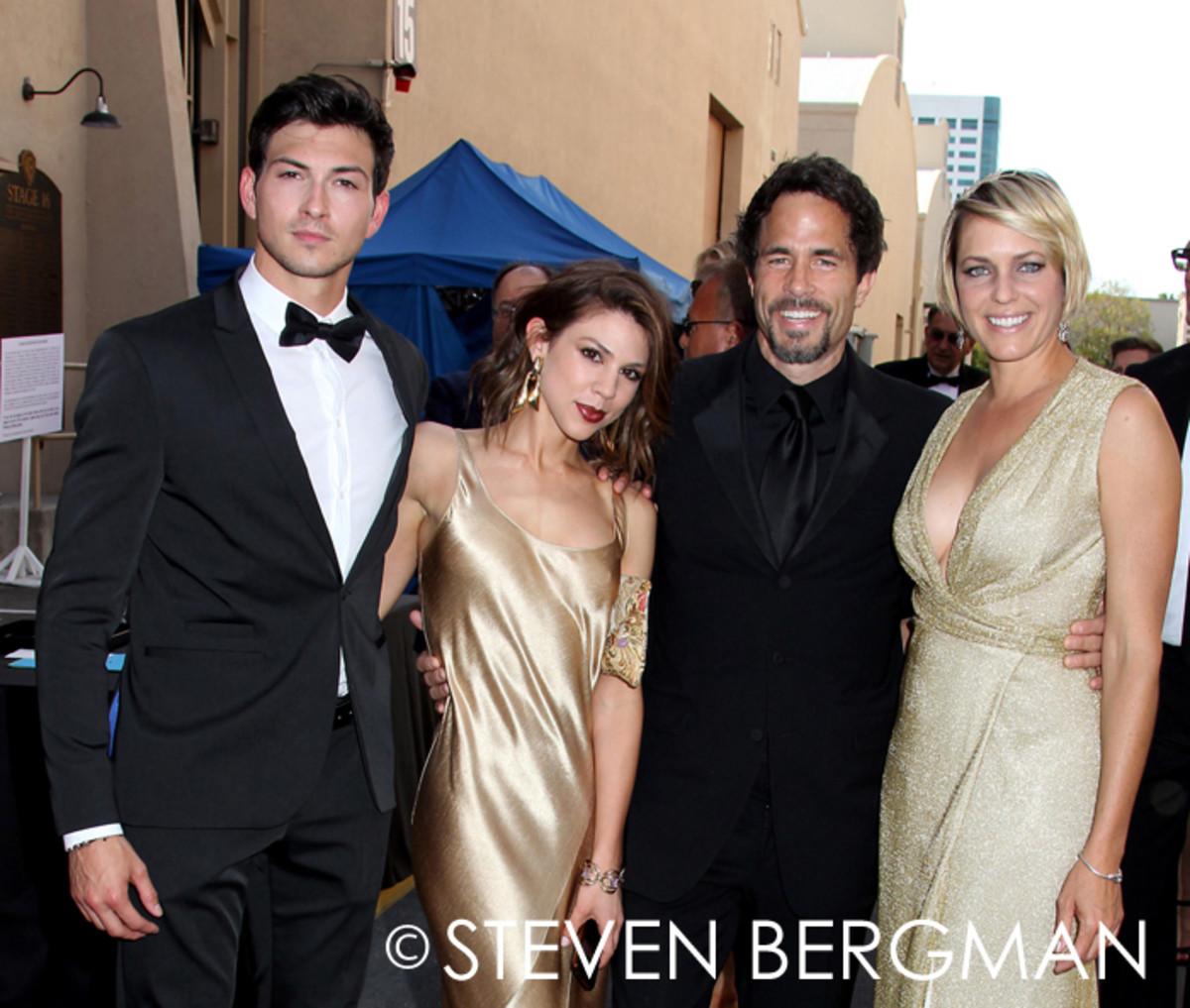 Robert Scott Wilson, Kate Mansi, Shawn Christian and Arianne Zucker