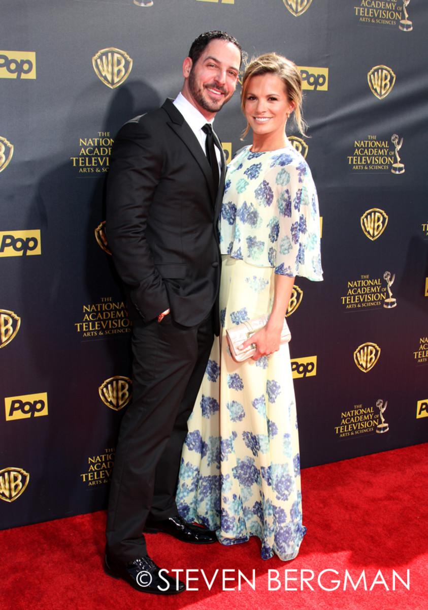 Melissa Claire Egan and husband Matt Katrosar