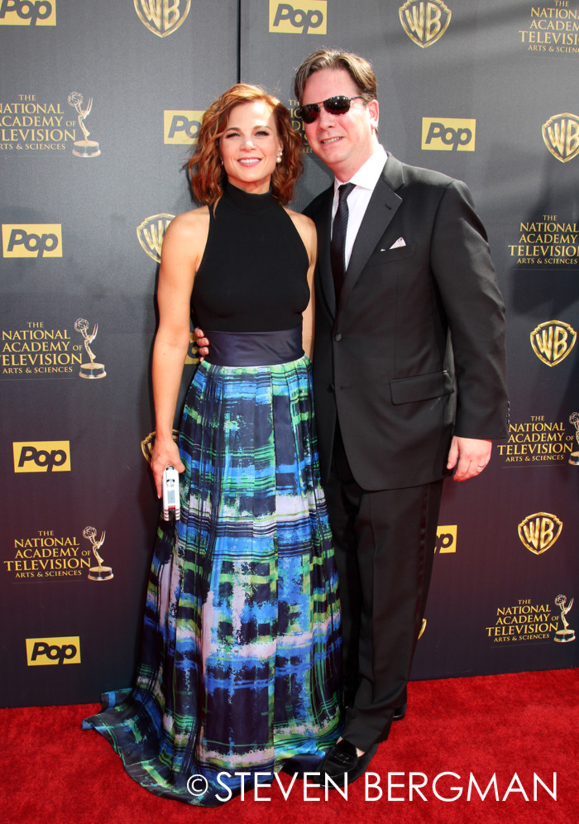 Gina Tognoni and husband Joseph Chiarello